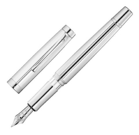 Hallmarked Sterling Silver Waldmann Fountain Pen -  Manager